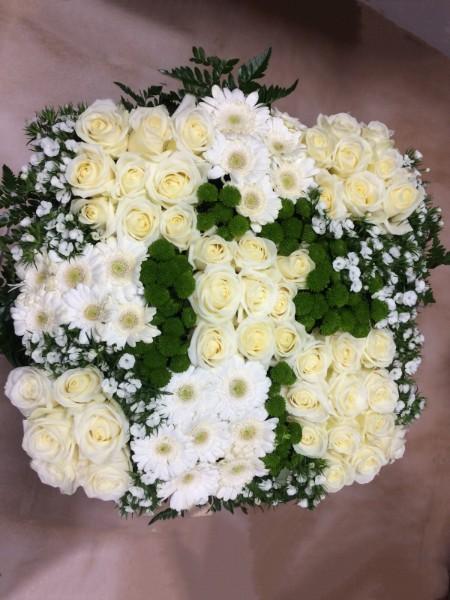 Compositions florales  coloris blanc