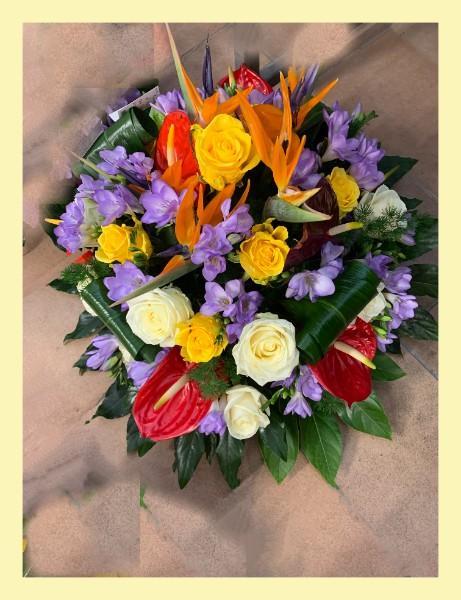 Compostions florales, différents modèles.
