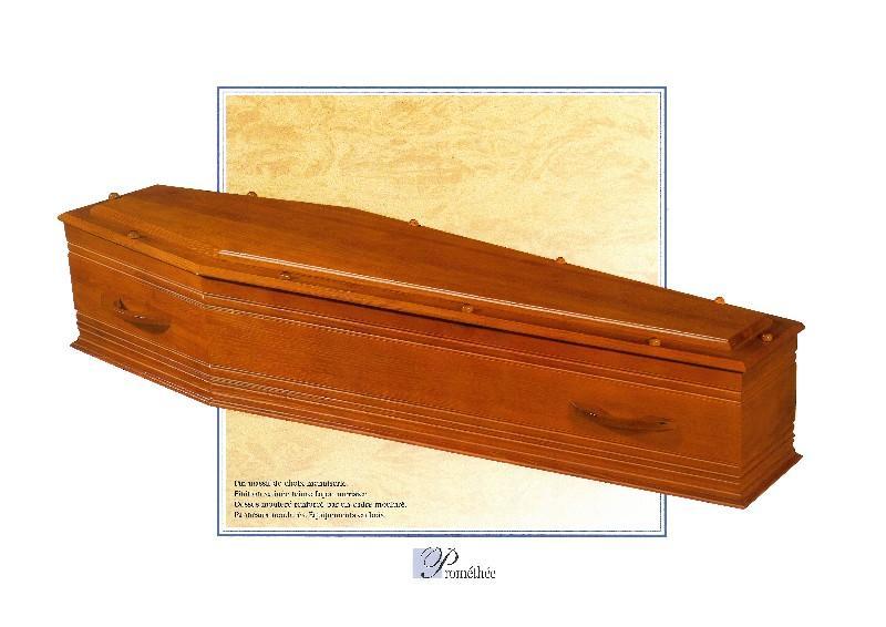 Cercueil Prométhée, Bois de Pin