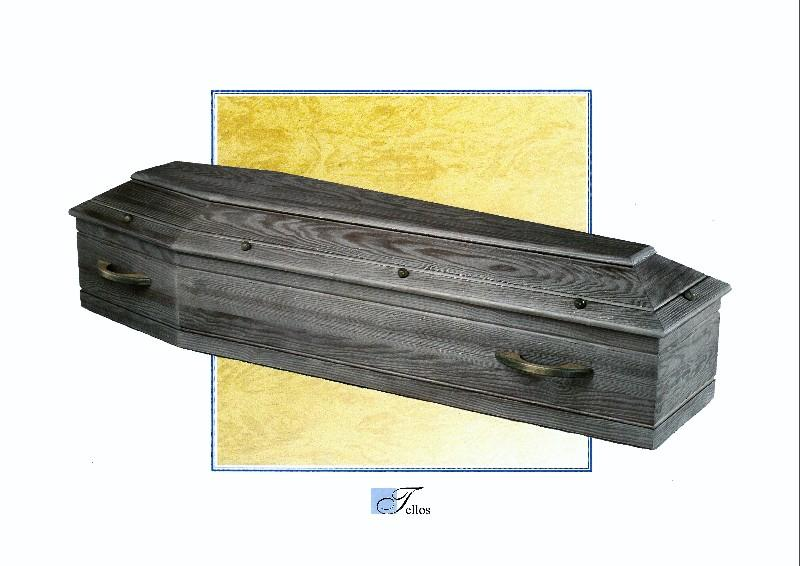 Cercueil Tellos, Bois de Pin