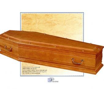 Cercueil Plaisance , Bois de chêne