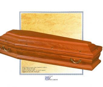 Cercueil Terre Neuve , Bois de chêne