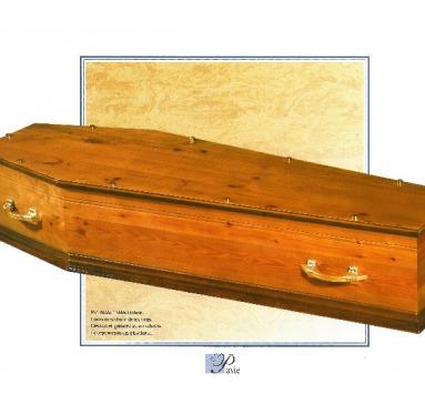 Cercueil Pavie, Bois de Pin
