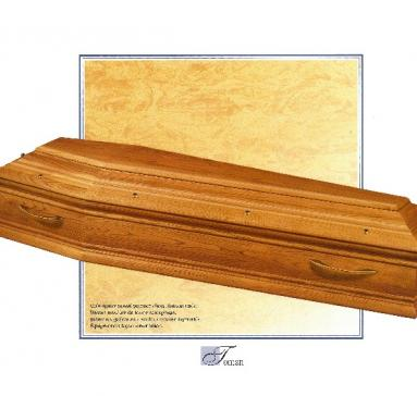 Cercueil Toman, Bois de Châtaignier