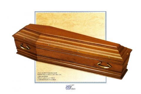 Cercueil Triton, Bois de Chêne